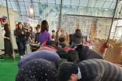 '꽃물드림' 동아리와 함께하는 천연염색 체험