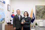 은수미 성남시장, 대한민국임시정부 기념사업회 감사패 수상