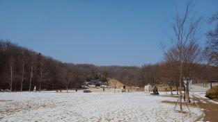 율동공원, 봄눈 녹는 소리
