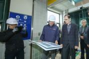 의왕, 주요 공사현장 점검