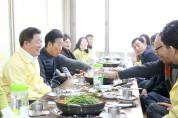 박승원 광명시장, 지역 상인 격려